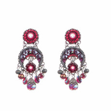 Ayala Bar Crimson Flame Blood Moon Earrings
