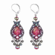 Ayala Bar Crimson Flame French Wire Earrings
