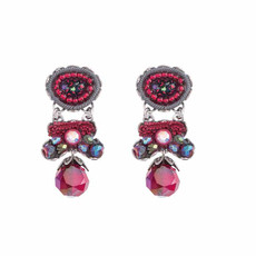 Ayala Bar Crimson Flame Campfire Earrings
