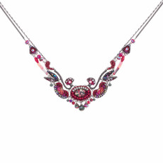 Ayala Bar Crimson Flame Whispy Clouds Necklace