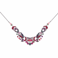 Ayala Bar Crimson Flame Dark Apple Necklace
