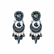 Ayala Bar Moon Jet Blackberry Earrings