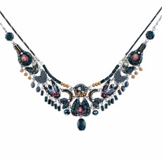 Ayala Bar Moon Jet Black Bear Necklace