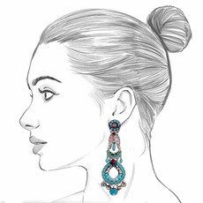 Ayala Bar Tapestry Delight Icicle Earrings