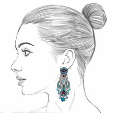 Ayala Bar Tapestry Delight Ice Cube Earrings