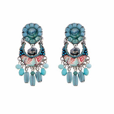 Ayala Bar Tapestry Delight Icy Lake Earrings