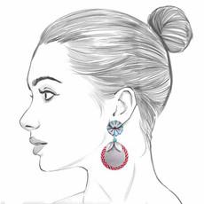 Ayala Bar Circus Mind Plate Spinning Earrings