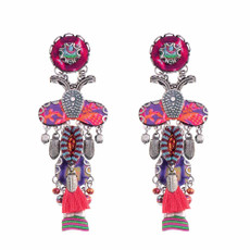 Ayala Bar Ruby Tuesday Lady Bug Earrings
