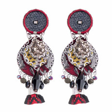 Ayala Bar Black Karma Sound Earrings