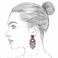 Ayala Bar Black Karma Tamara Earrings