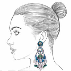 Ayala Bar Fifth Dimension Neptune Earrings
