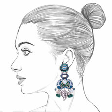 Ayala Bar Fifth Dimension Meditation Earrings