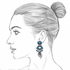 Ayala Bar Fifth Dimension Paloma Earrings