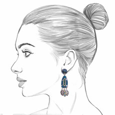 Ayala Bar Fifth Dimension Eilat Earrings