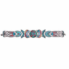 Ayala Bar Blue Castle Lotus Chant Bracelet