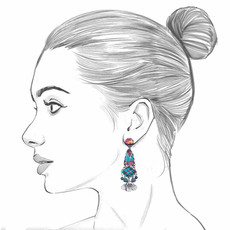 Ayala Bar Blue Castle Hazel Earrings
