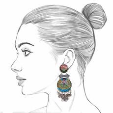 Ayala Bar Moonlight Daydream Austin Earrings