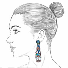 Ayala Bar Space Ritual Meditation Earrings