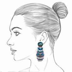 Ayala Bar Space Ritual Galaxia Earrings