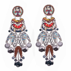 Ayala Bar Sundown Chant Long Walk Earrings