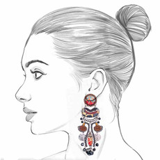 Ayala Bar Sundown Chant Sunkiss Earrings