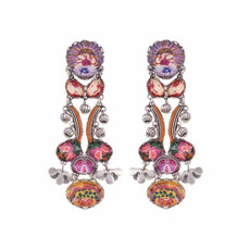 Ayala Bar Electric Ladyland Hibiscus Earrings