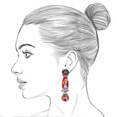 Ayala Bar Electric Ladyland Perfume Scent Earrings