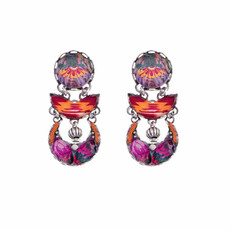 Ayala Bar Electric Ladyland Pink Lightning Earrings