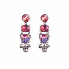Ayala Bar Electric Ladyland Coral Love Earrings
