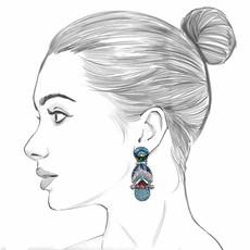 Ayala Bar Velvet Emporium France Earrings