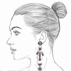 Ayala Bar The Astral Collection Sirius Earrings