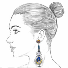 Ayala Bar The Astral Collection Altair Earrings