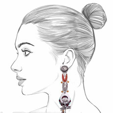 Ayala Bar The Astral Collection Pollux Earrings