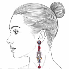 Ayala Bar The Astral Collection Antares Earrings