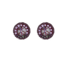 Ayala Bar Crimson Voyage as Cute as a Button Earrings