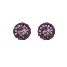 Ayala Bar Crimson Voyage as Cute as a Button Earrings