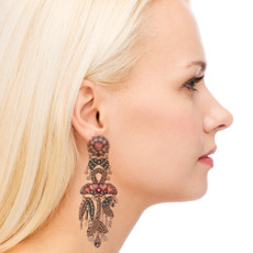 Ayala Bar Silver Odyssey Unforgettable Earrings