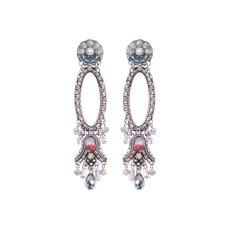Ayala Bar Silver Odyssey Chandelier Earrings