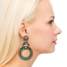 Ayala Bar Clearwater Sugar Sand Earrings