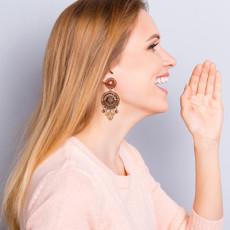 Ayala Bar Shifting Sands Agave Earrings