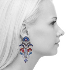 Ayala Bar Morning Glory Harlequin Earrings