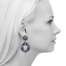 Ayala Bar Morning Glory Mosaic Earrings