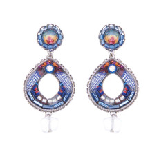 Ayala Bar Morning Glory Mosaic Earrings