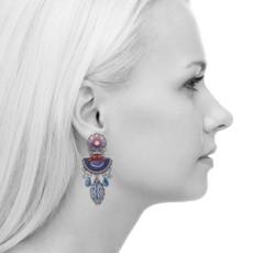 Ayala Bar Morning Glory Lotus Earrings