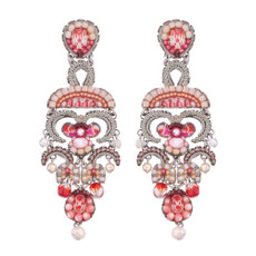 Ayala Bar Gogi Pearls Cherry Blossom Earrings