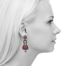Ayala Bar Gogi Pearls Jetplane Earrings