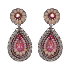 Ayala Bar Gogi Pearls Petal Earrings