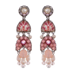 Ayala Bar Gogi Pearls Champagne Earrings
