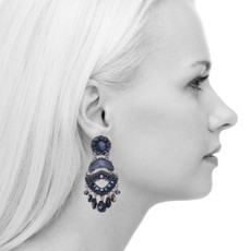 Ayala Bar Love Jet Galaxy Earrings