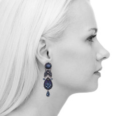 Ayala Bar Love Jet Stargaze Earrings